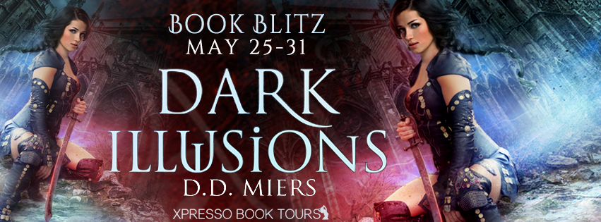 Signed copy of Dark Illusions, $25 Amazon gift card
